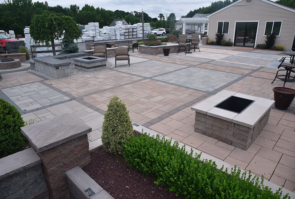 Techo bloc display area tour pantano for Techo bloc