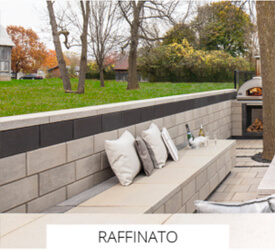 Raffinato Techo Bloc Wall At Pantano Nursery And Landscape Supply In New Jersey
